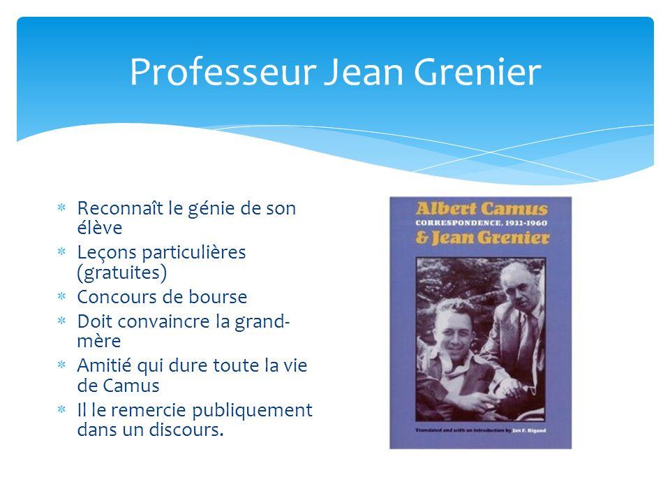 Professeur Jean Grenier