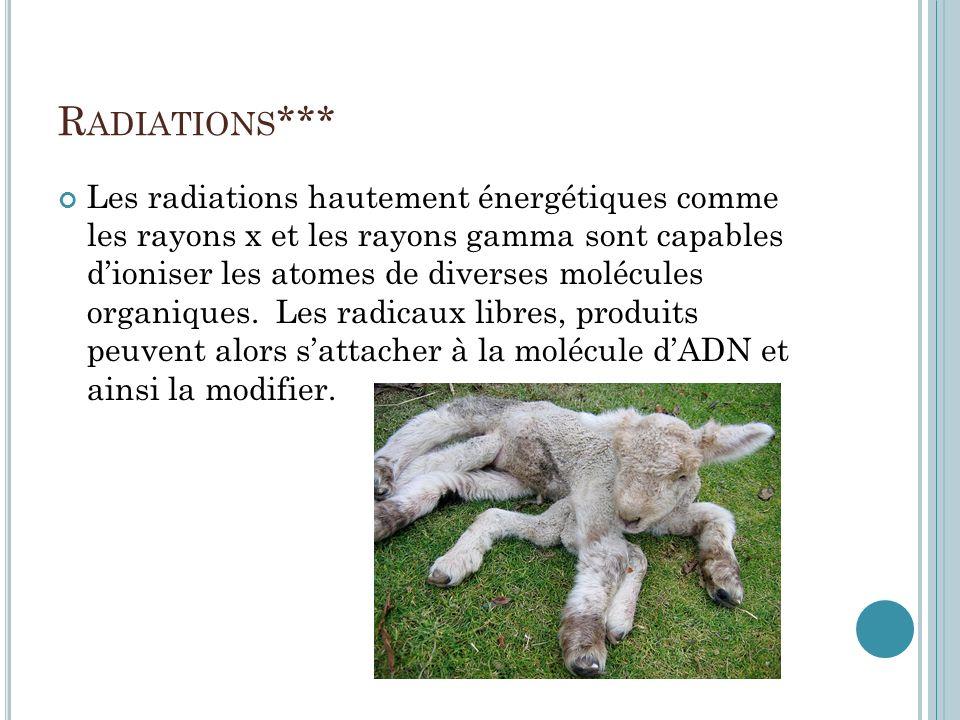 Radiations***