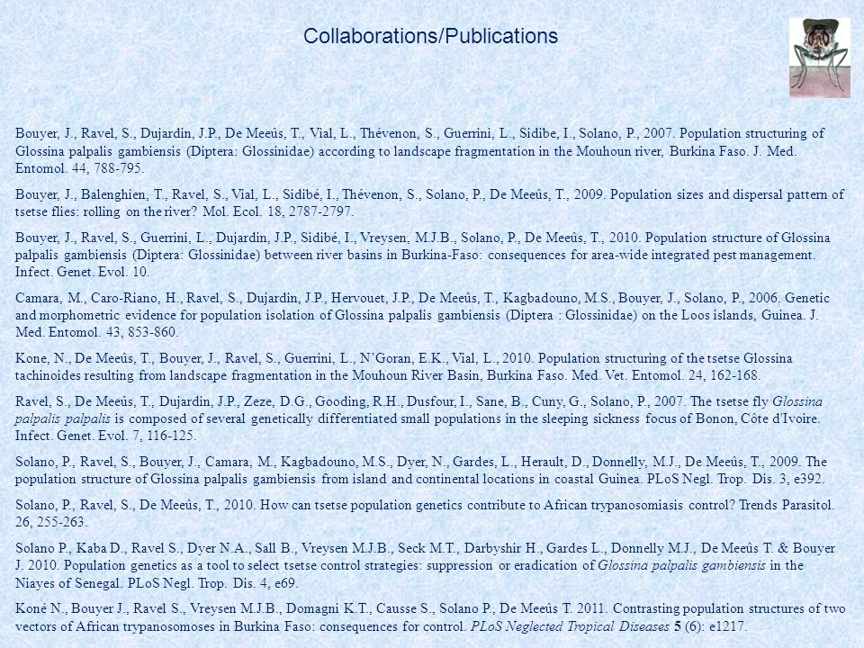 Collaborations/Publications