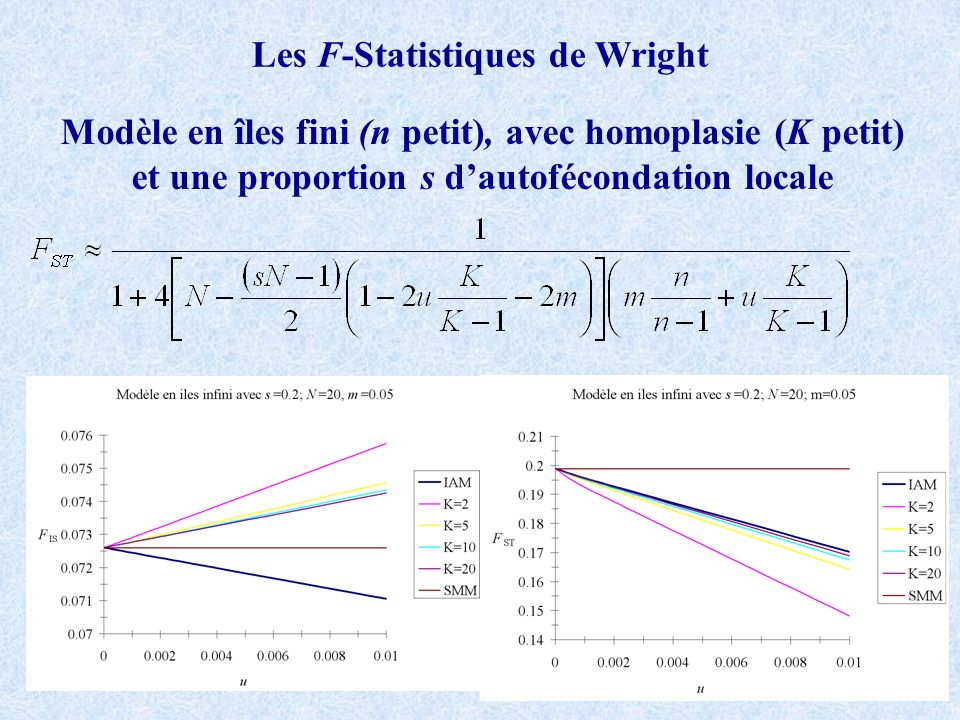 Les F-Statistiques de Wright