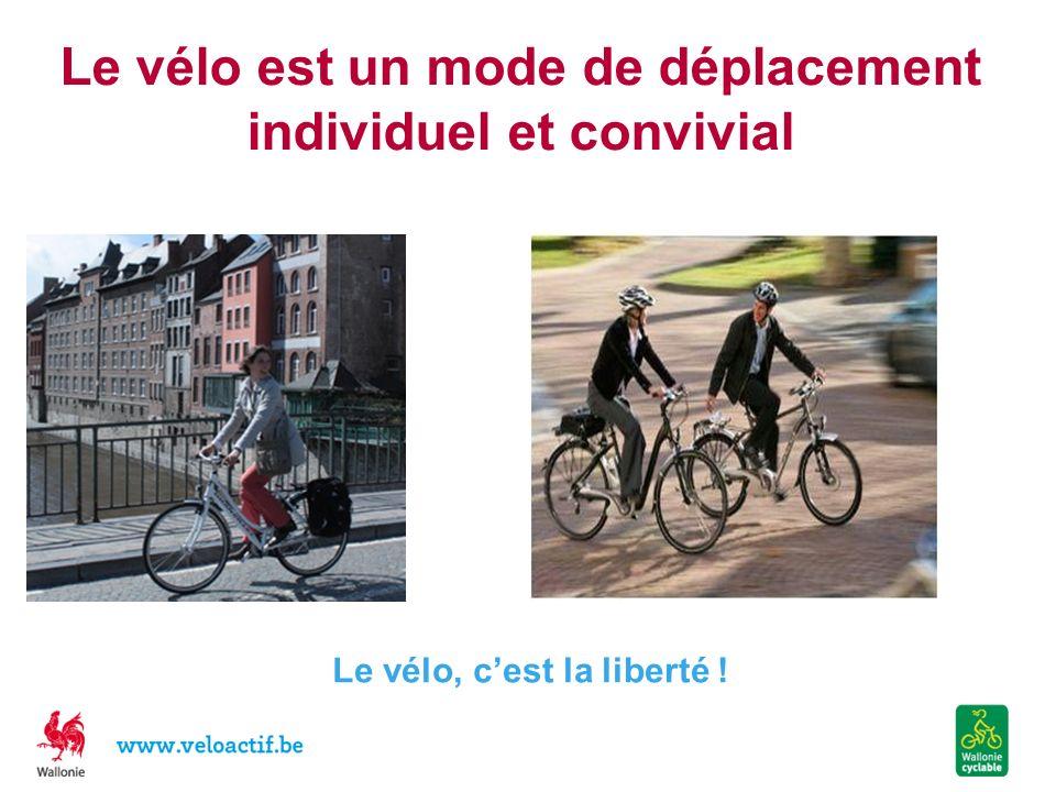 Le vélo est un mode de déplacement individuel et convivial
