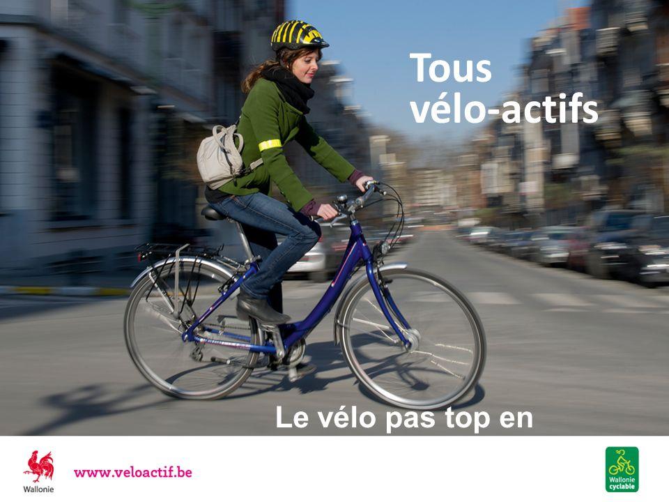 Tous vélo-actifs Le vélo pas top en Wallonie