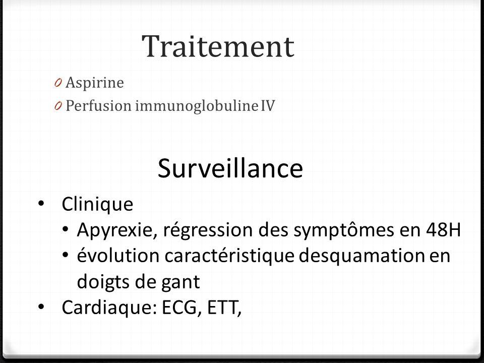 Traitement Surveillance Clinique
