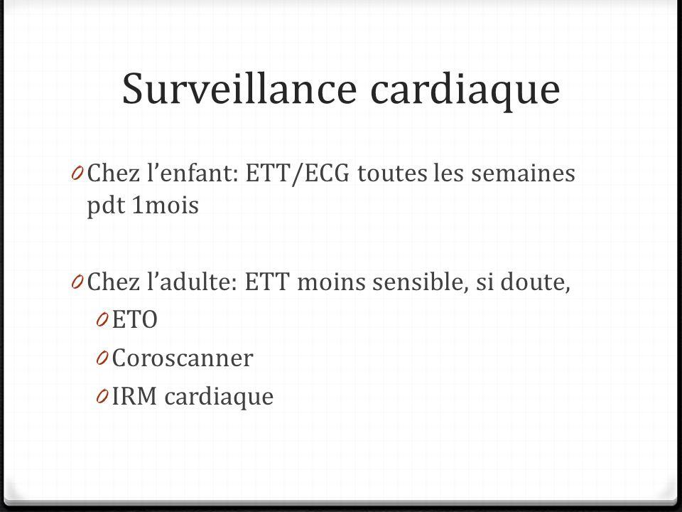 Surveillance cardiaque