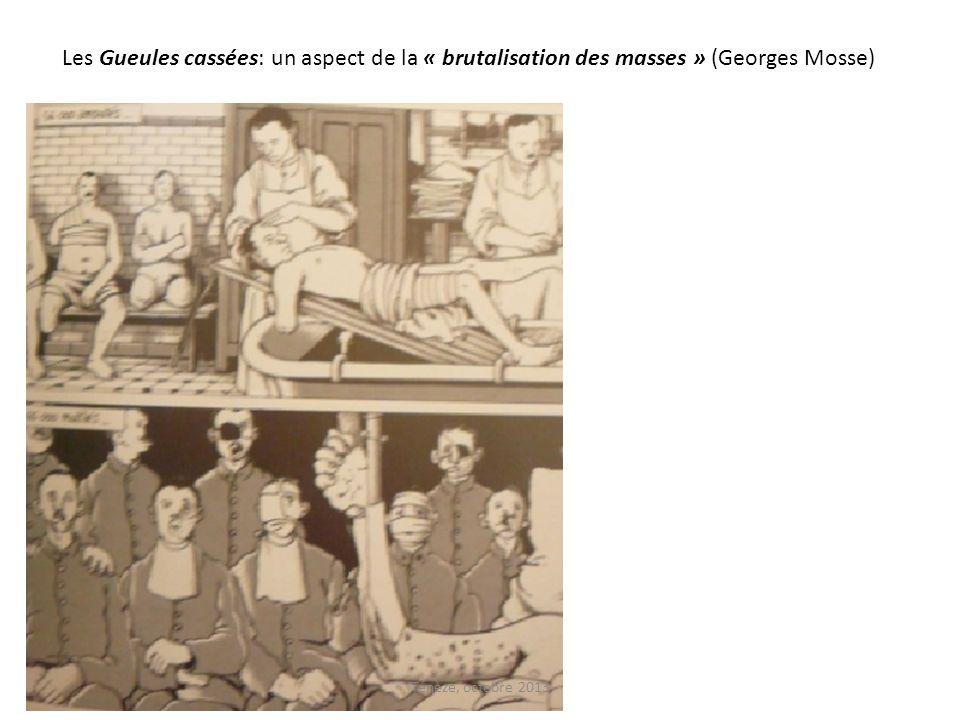 Les Gueules cassées: un aspect de la « brutalisation des masses » (Georges Mosse)