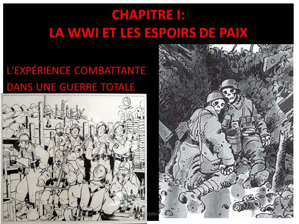 Chapitre I: La WWI et les espoirs de paix