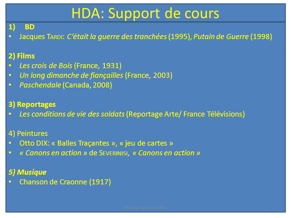 HDA: Support de cours BD