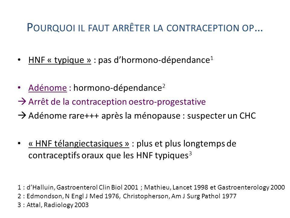 Pourquoi il faut arrêter la contraception op…