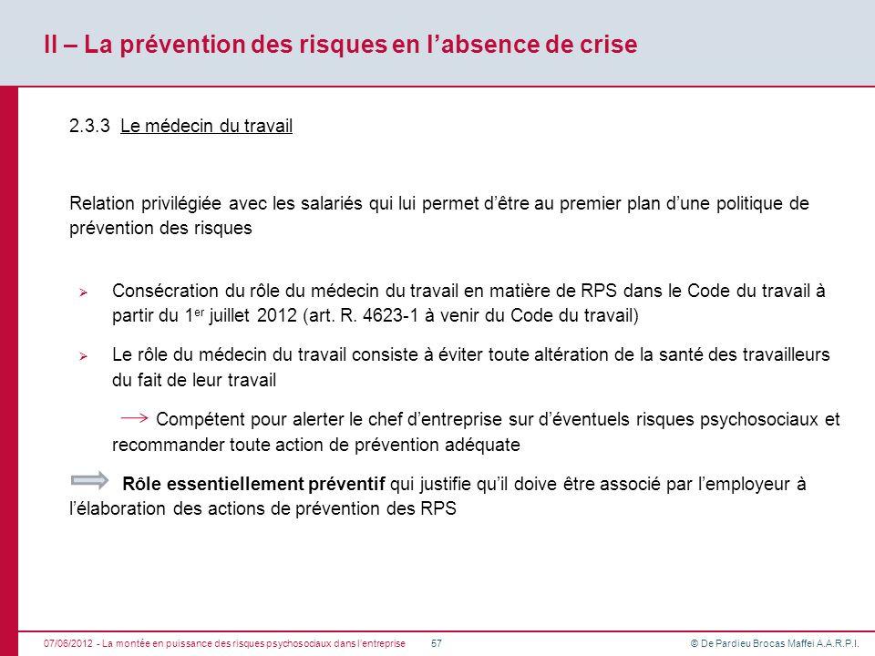 La montée en puissance des risques psychosociaux dans l ...