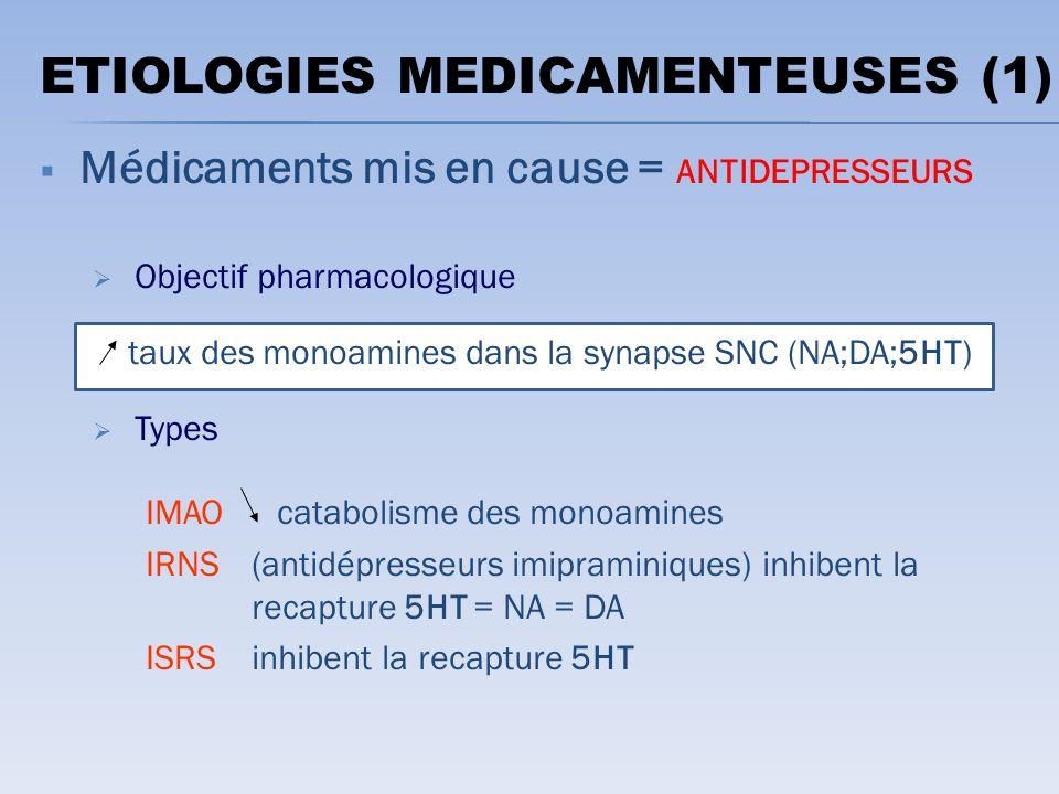 ETIOLOGIES MEDICAMENTEUSES (1)