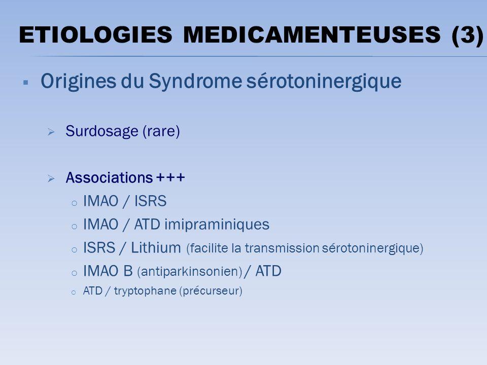 ETIOLOGIES MEDICAMENTEUSES (3)