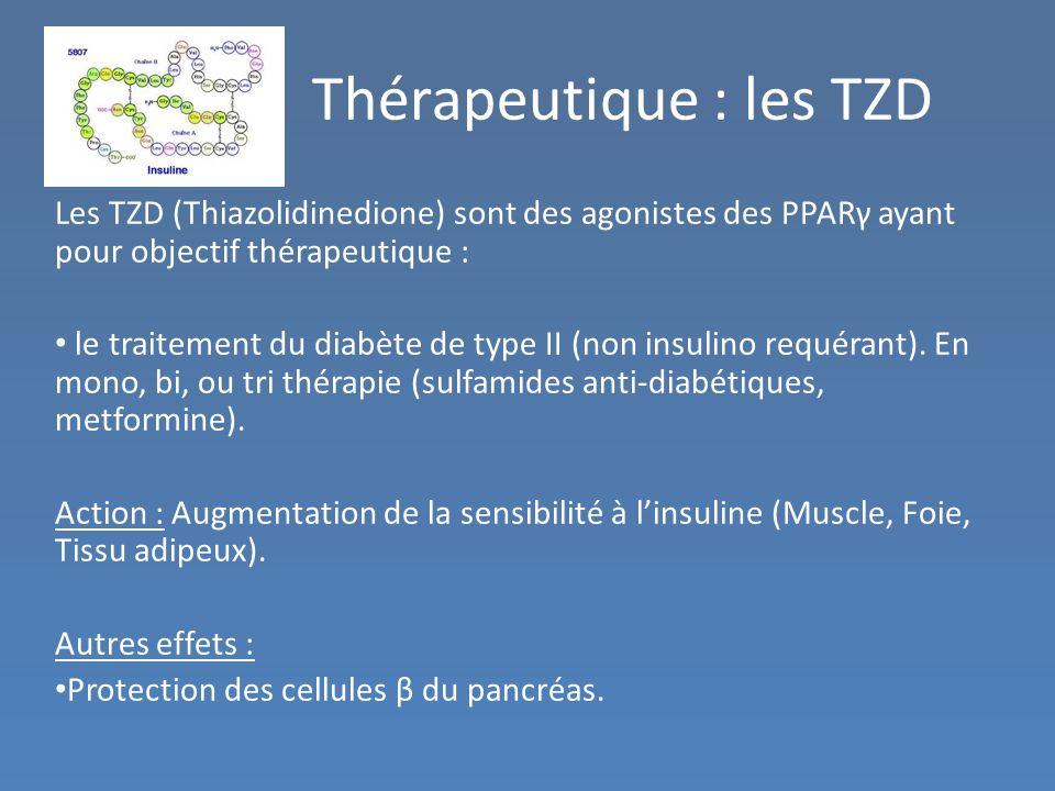 Thérapeutique : les TZD