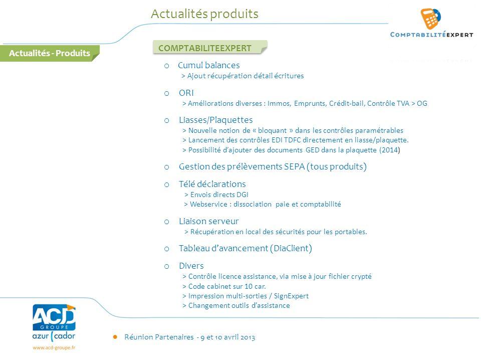 Actualités produits COMPTABILITEEXPERT Actualités - Produits