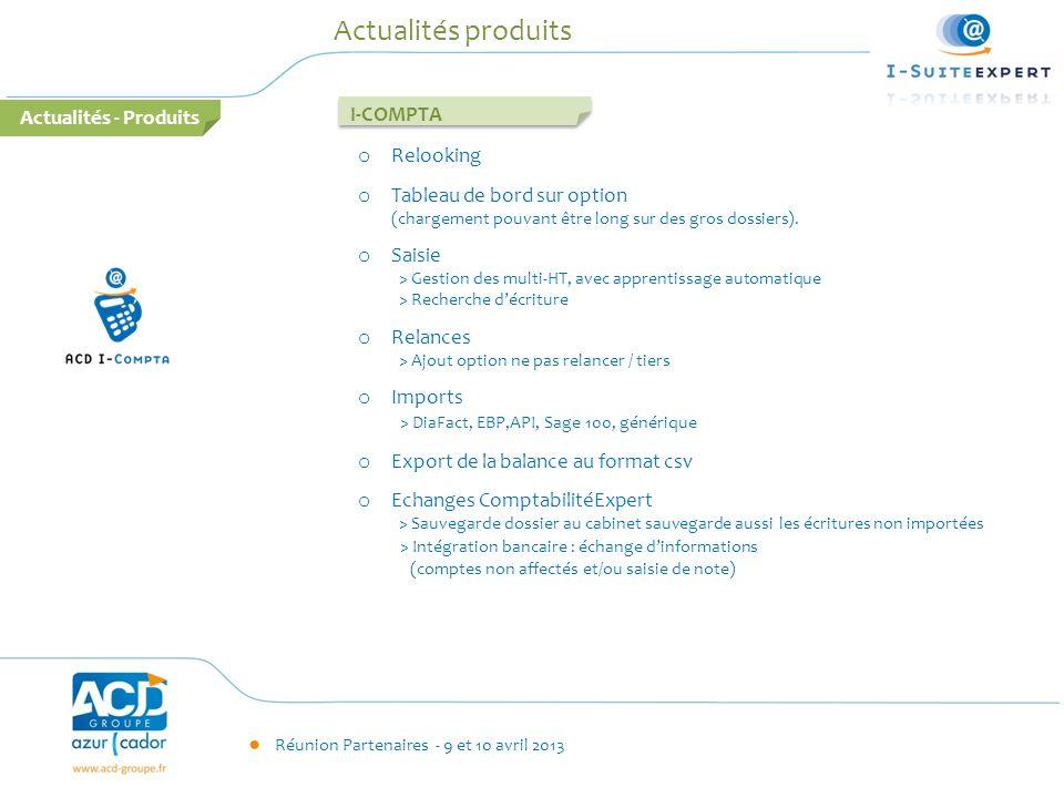 Actualités produits Actualités - Produits I-COMPTA Relooking