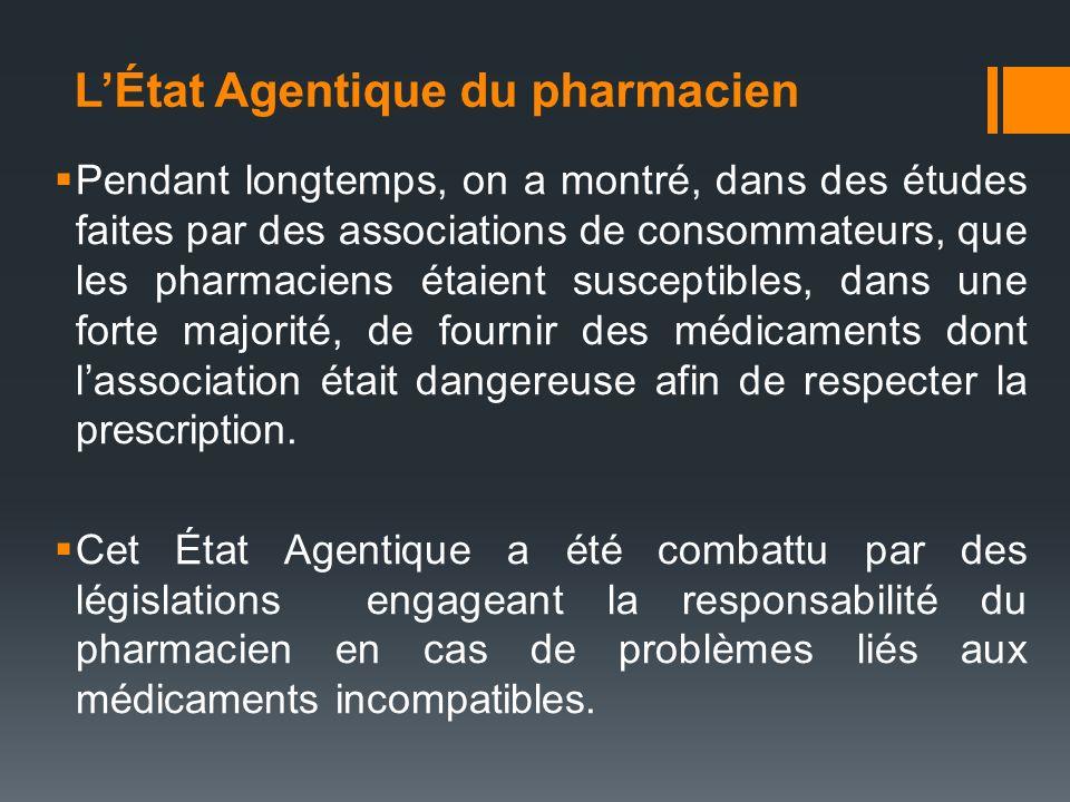 L'État Agentique du pharmacien
