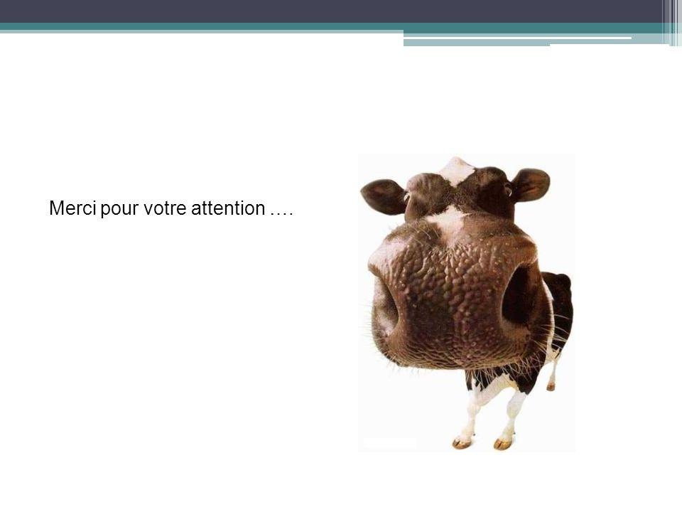 Merci pour votre attention ….