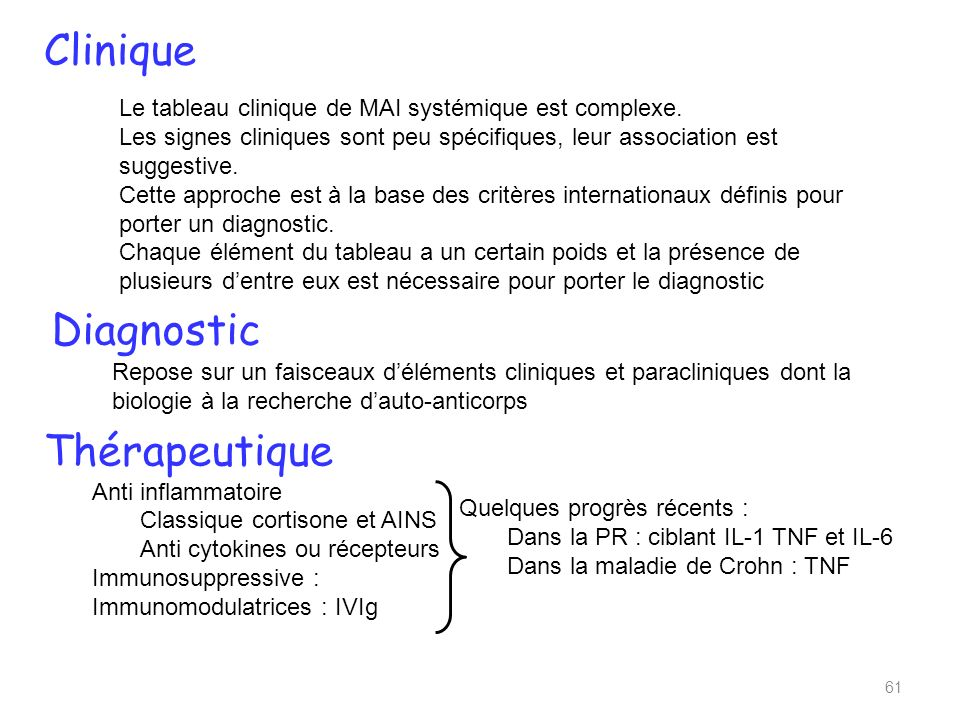 Clinique Diagnostic Thérapeutique