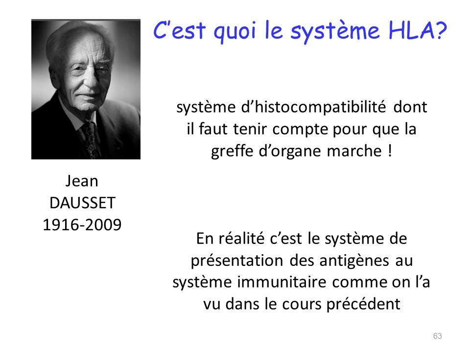 C'est quoi le système HLA