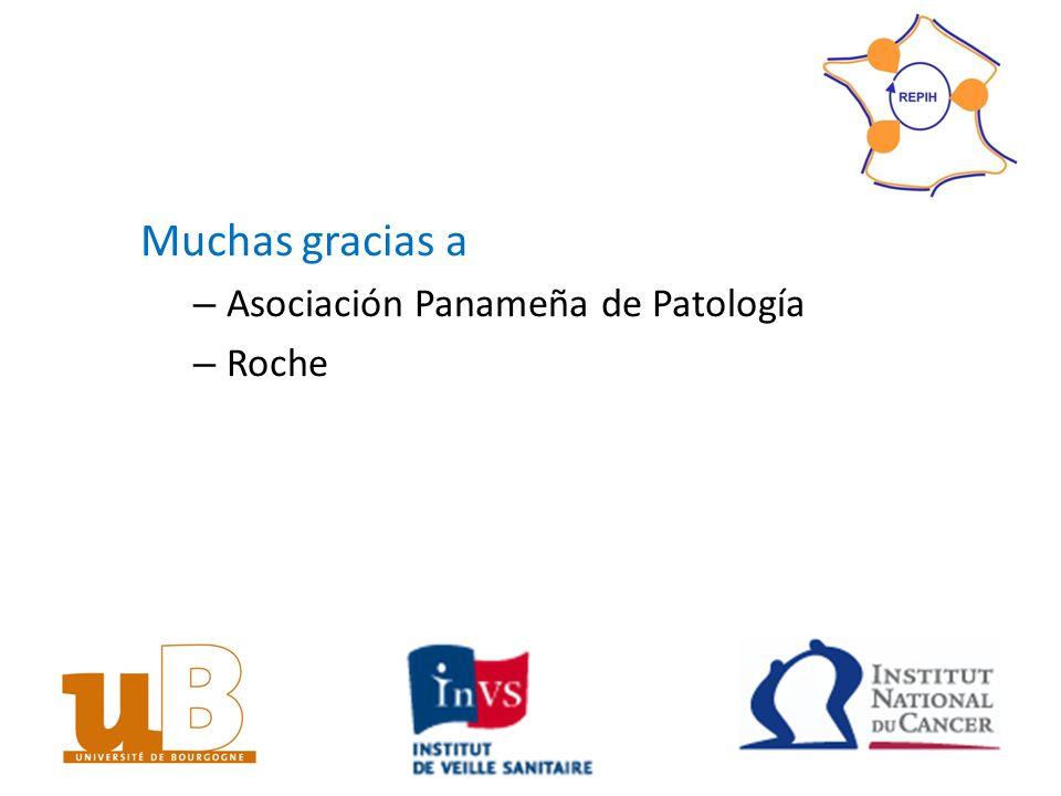 Muchas gracias a Asociación Panameña de Patología Roche