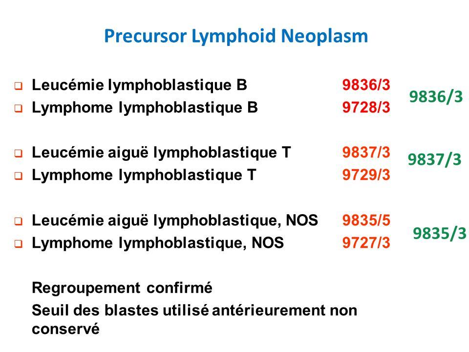 Precursor Lymphoid Neoplasm