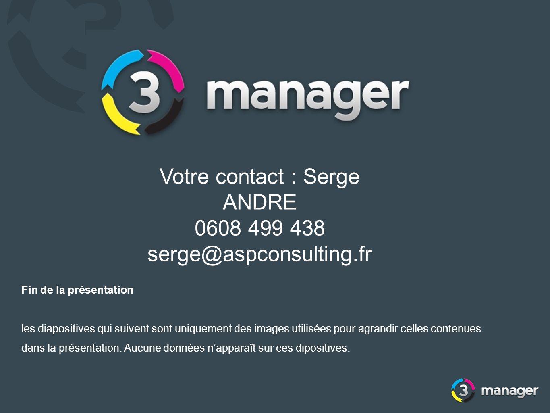 Votre contact : Serge ANDRE