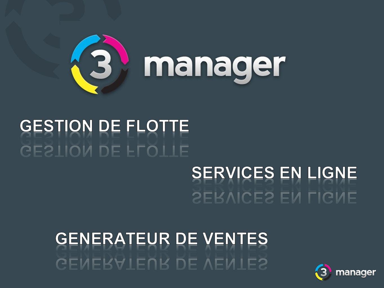 GESTION DE FLOTTE SERVICES EN LIGNE GENERATEUR DE VENTES
