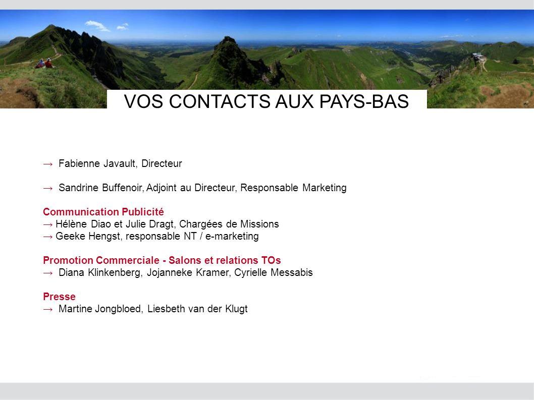 VOS CONTACTS AUX PAYS-BAS