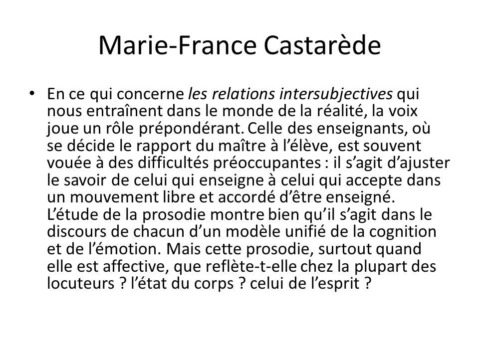 Marie-France Castarède