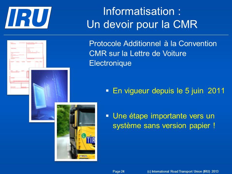 Informatisation : Un devoir pour la CMR