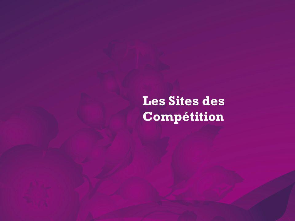Les Sites des Compétition
