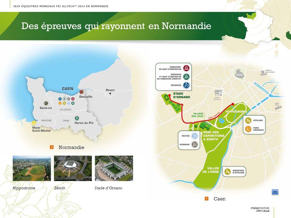 Des épreuves qui rayonnent en Normandie