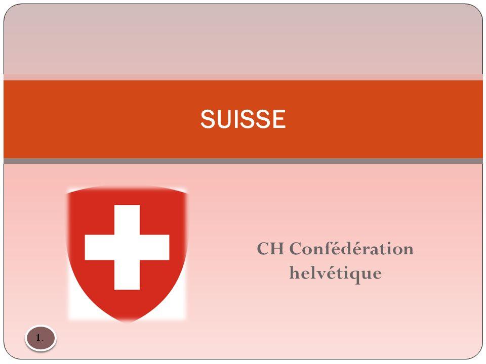 CH Confédération helvétique