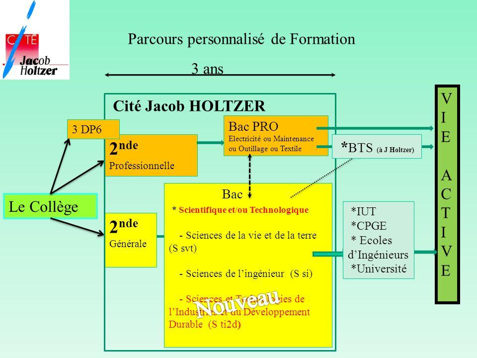 Nouveau 2nde 2nde Parcours personnalisé de Formation 3 ans V