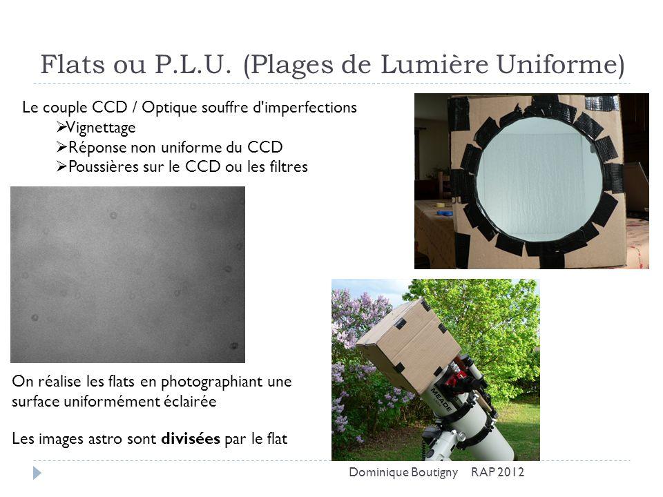 Flats ou P.L.U. (Plages de Lumière Uniforme)
