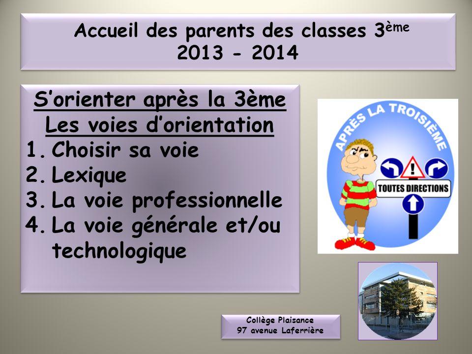Collège Plaisance 97 avenue Laferrière