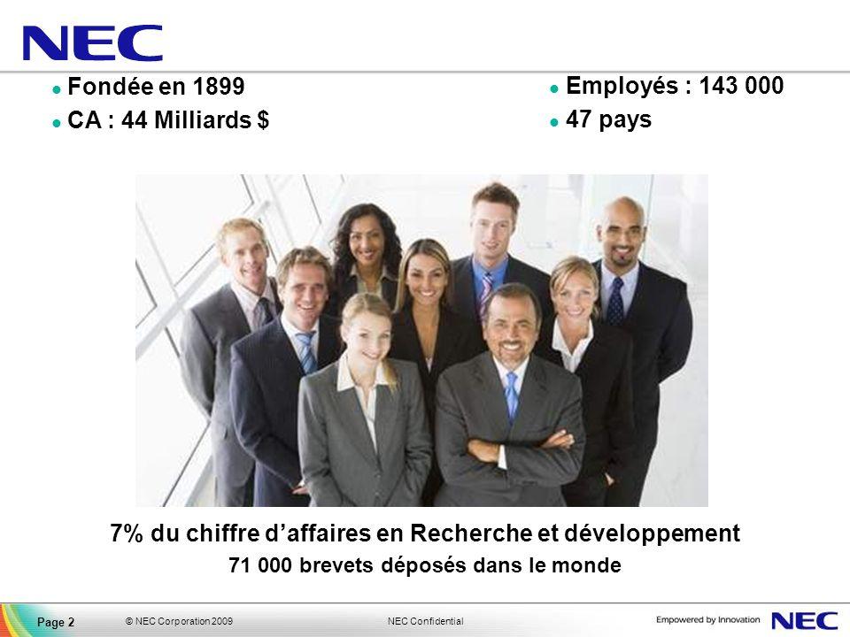 7% du chiffre d'affaires en Recherche et développement