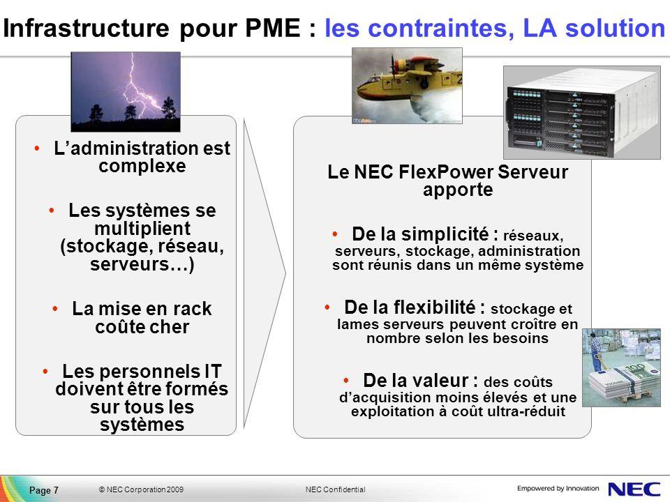 Infrastructure pour PME : les contraintes, LA solution