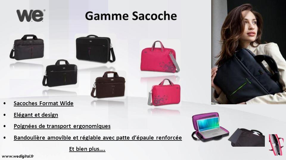 Gamme Sacoche Sacoches Format Wide Elégant et design