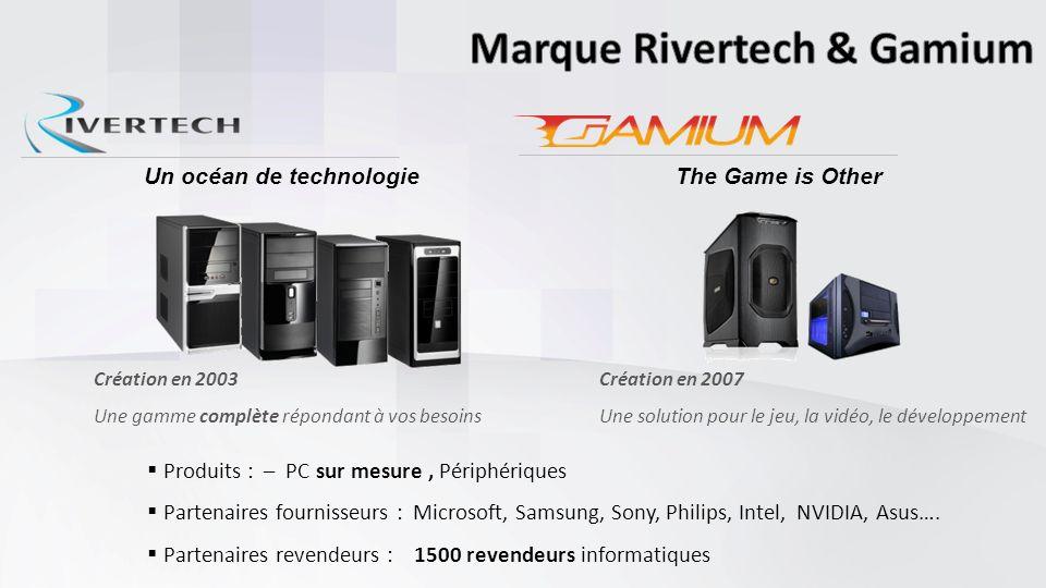 Marque Rivertech & Gamium