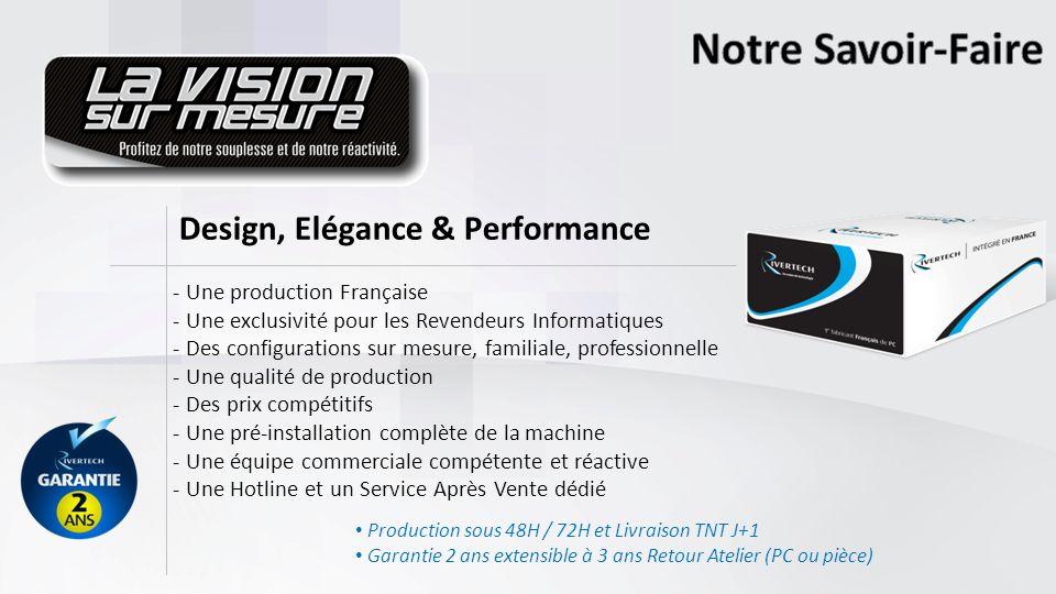 Notre Savoir-Faire Design, Elégance & Performance