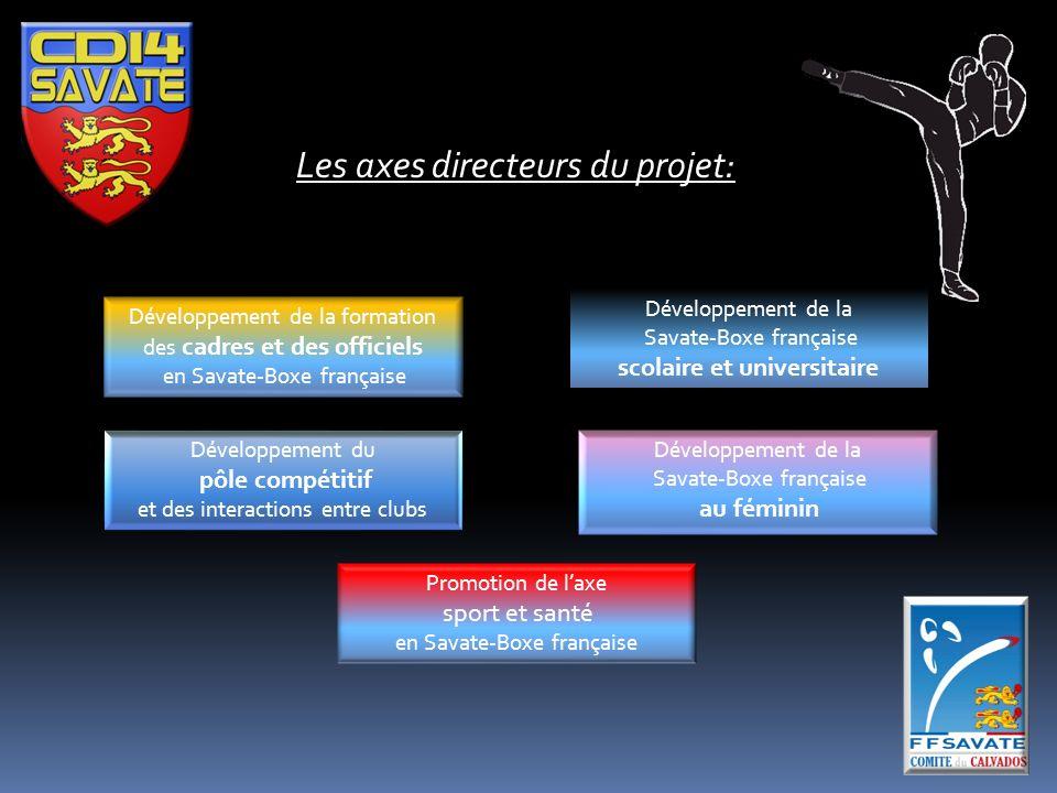Les axes directeurs du projet:
