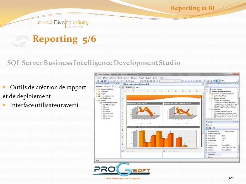 Reporting 5/6 SQL Server Business Intelligence Development Studio
