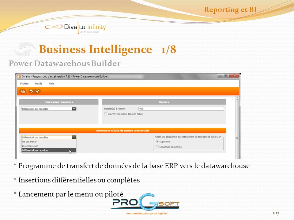 Business Intelligence 1/8