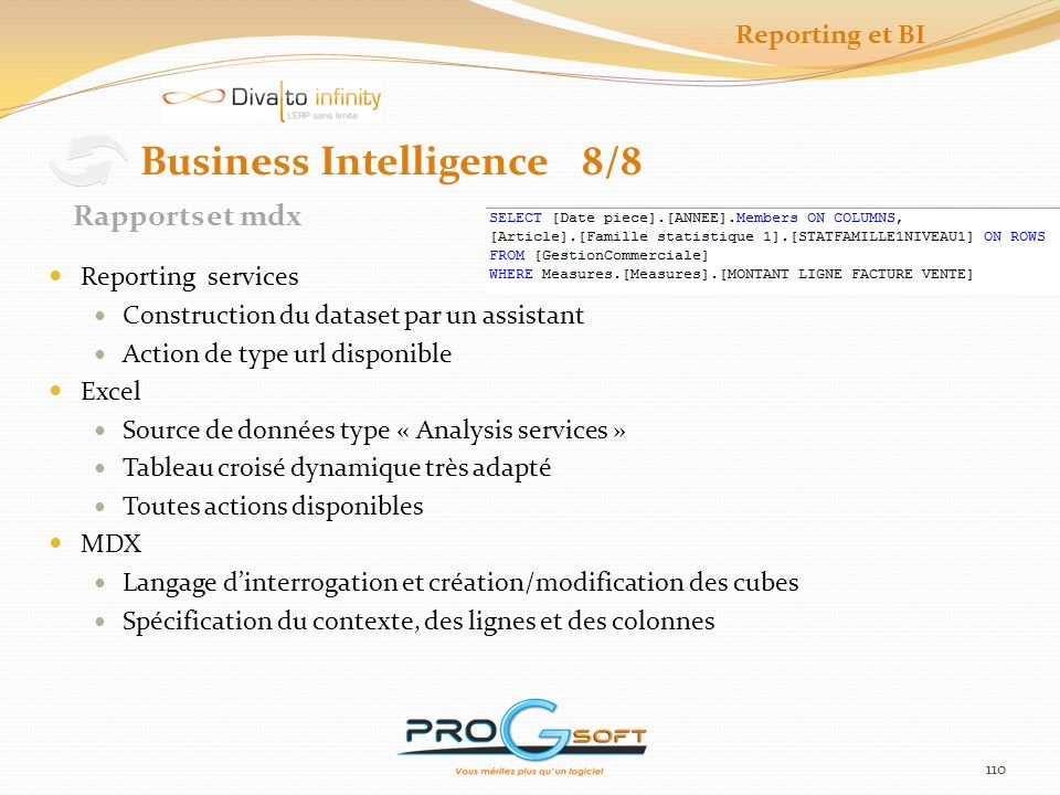 Business Intelligence 8/8