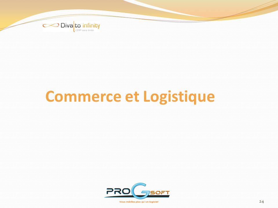 Commerce et Logistique