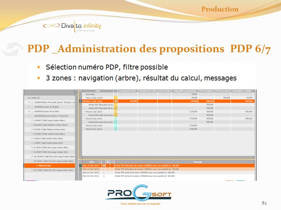 PDP _Administration des propositions PDP 6/7
