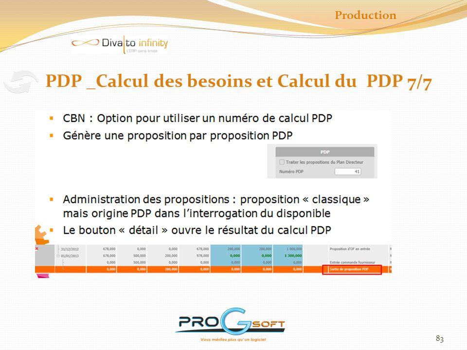PDP _Calcul des besoins et Calcul du PDP 7/7
