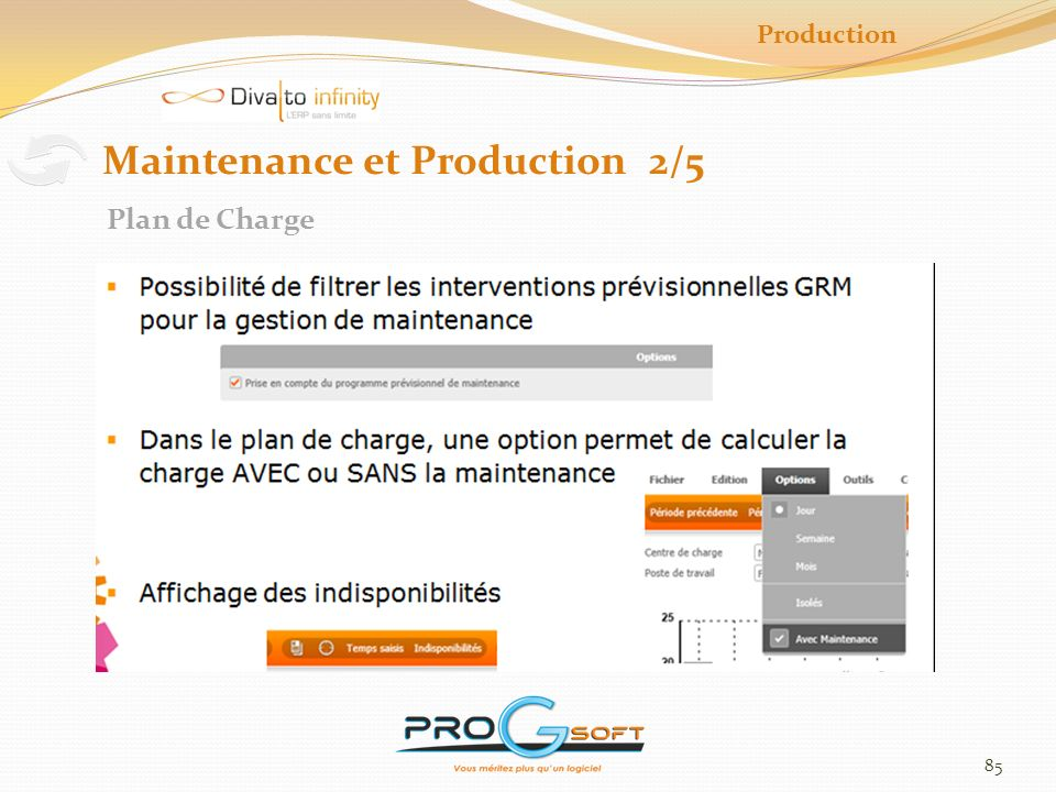 Maintenance et Production 2/5