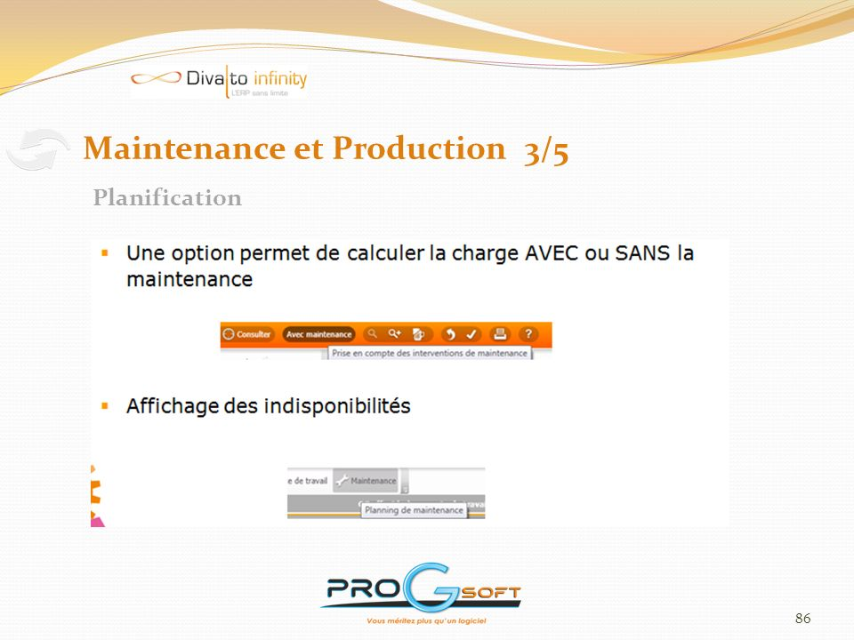 Maintenance et Production 3/5
