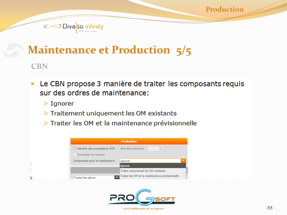 Maintenance et Production 5/5